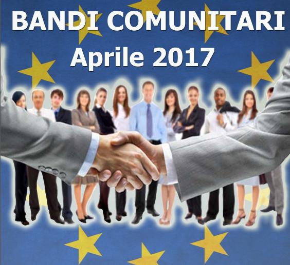 Bandi ue di aprile 2017 lavorare in europa antonio de poli for Lavorare in parlamento