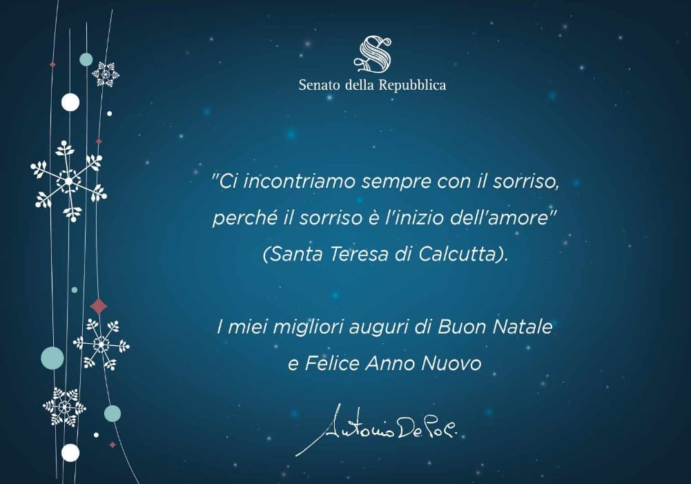 Frasi Auguri Natale Madre Teresa Di Calcutta.Auguri Antonio De Poli